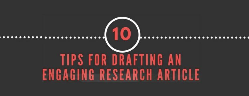 10个技巧,打造更具吸引力的科研论文