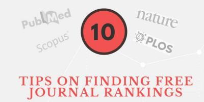 信息图:发掘免费期刊排名的十个技巧